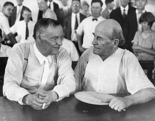 Clarence Darrow and William Jennings Bryan