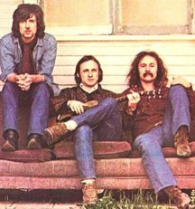 Crosby Stills Nash album cover (when they were kids)