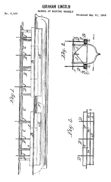 Lincoln Patent Pg. 3 (Drawings)