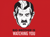 big-brother-is-watching-you GEORGE ORWELL's Novel 1984