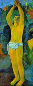 "Paul Gauguin - Detail of painting ""Where do we come from ..."""