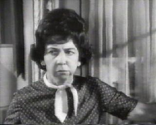 Gladys Kravitz, the snooping neighbor in Bewitched