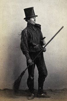 chimney sweep boy photo
