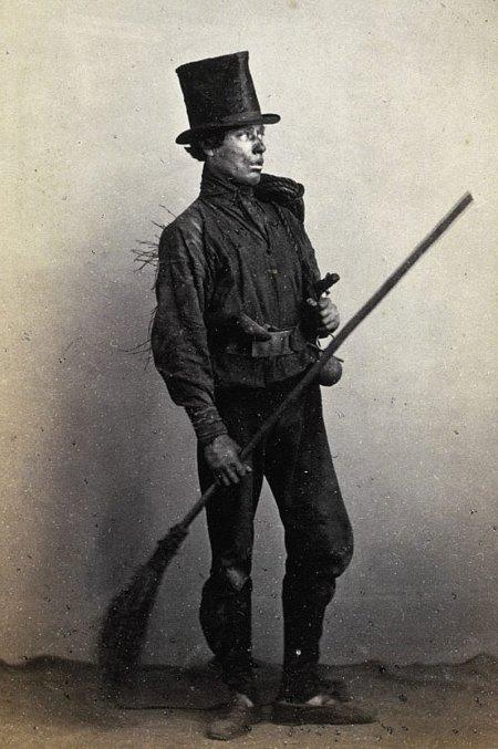 chimney sweep boy photo