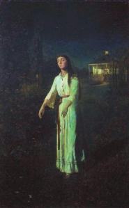 ivan kramskoi: the-sleepwalker-1871