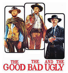 The Good The Bad and The Ugly - movie poster