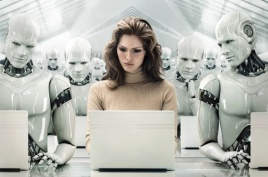human-and-robots