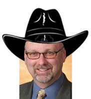 Ken Withers with cowboy hat