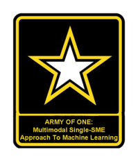 Army of One: Multimodal Single-SME Approach To Machine Learning