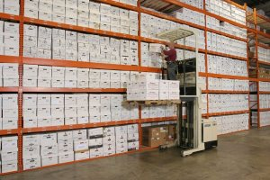 paper records management warehouse