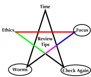 5-Tips_Review_FOCUS_WORMS_CHECK