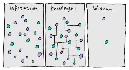 Knowledge_Information_Wisdom