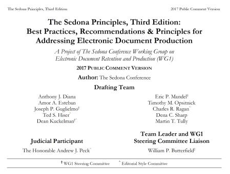 SEDONA_Prin_writing_team